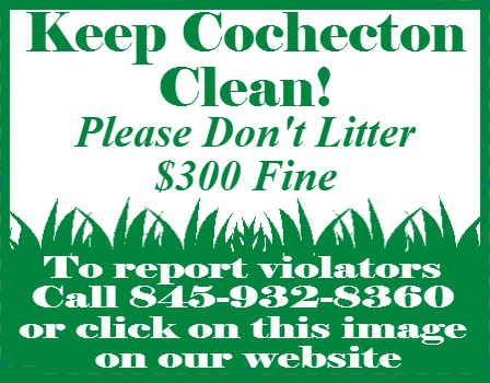Keep Cochecton Clean